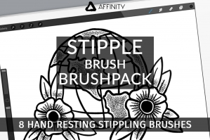 Stipple Brush Brushpack - Affinity