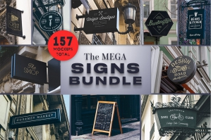 The Mega Signs Bundle
