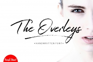 The Overleys Brush Font