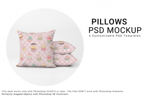 Throw Pillows Mockup Set No. 2