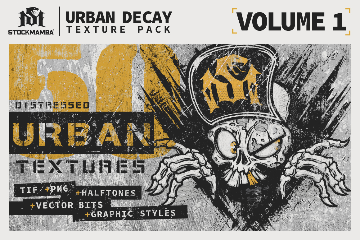 Urban Decay Texture Pack