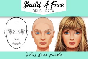 Build a Face Brushset
