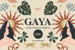 Gaya Modern Abstract Design Set