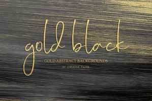 Gold Black Oil Paint Backgrounds