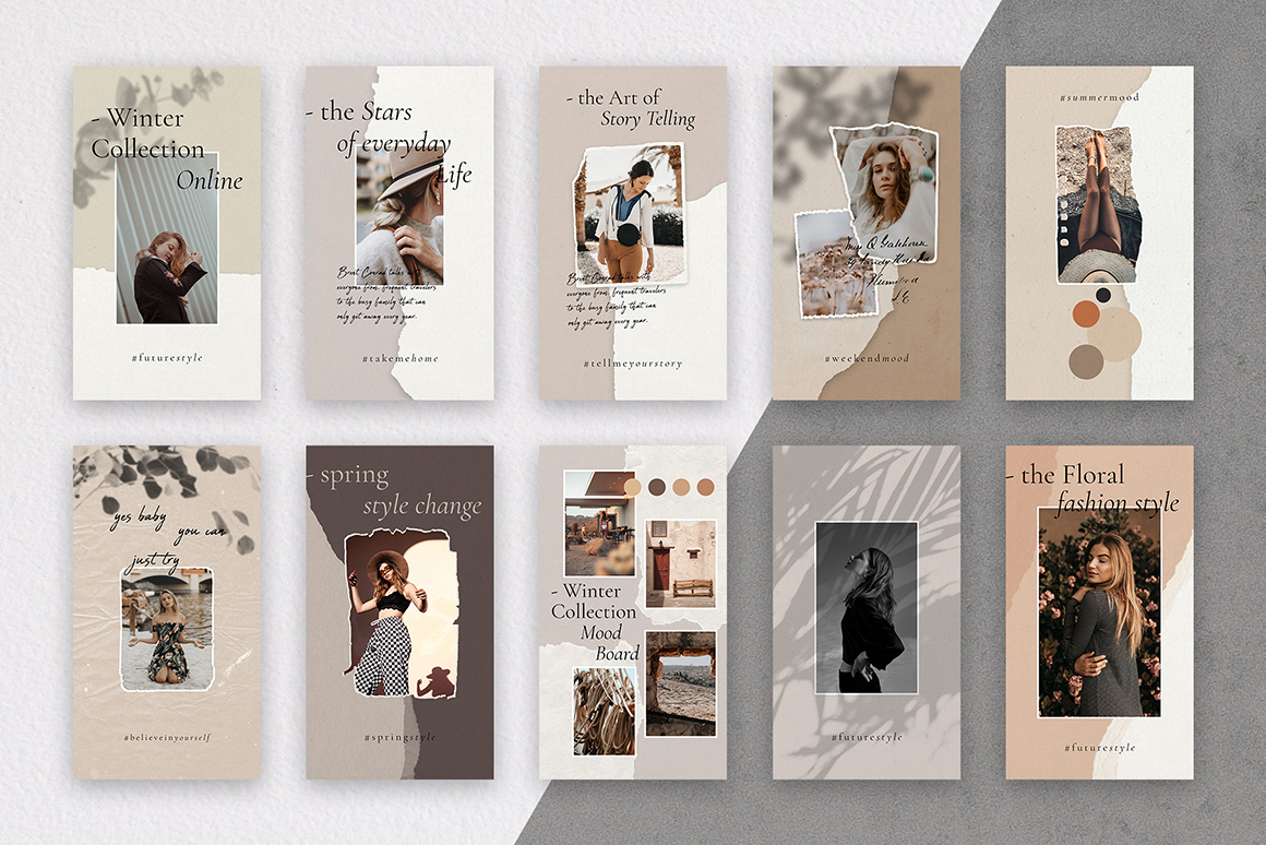 InstaBabe Instagram Story Templates