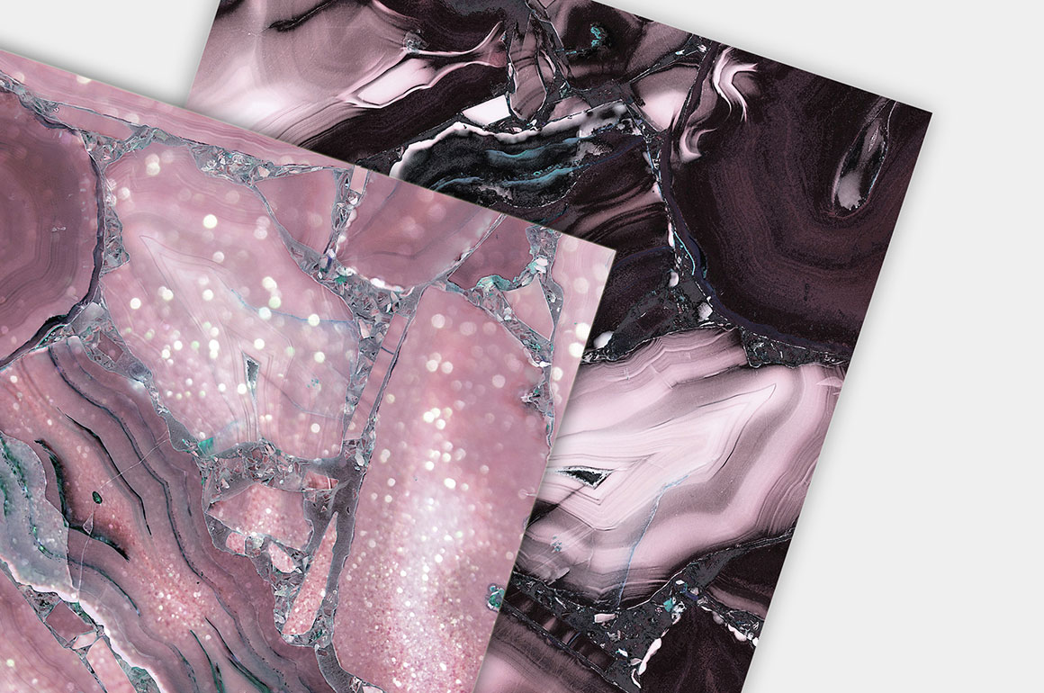 Modern Rose Marble Textures