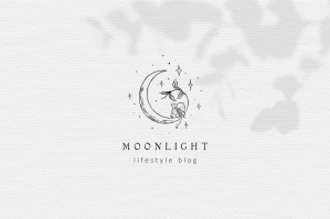 Moon Logo Template Branding Kit
