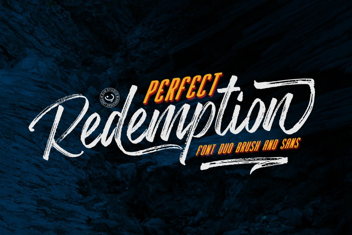 Perfect Redemption - Font Duo + Extras