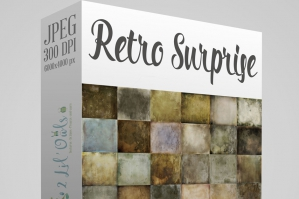 Retro Surprise Fine Art Textures