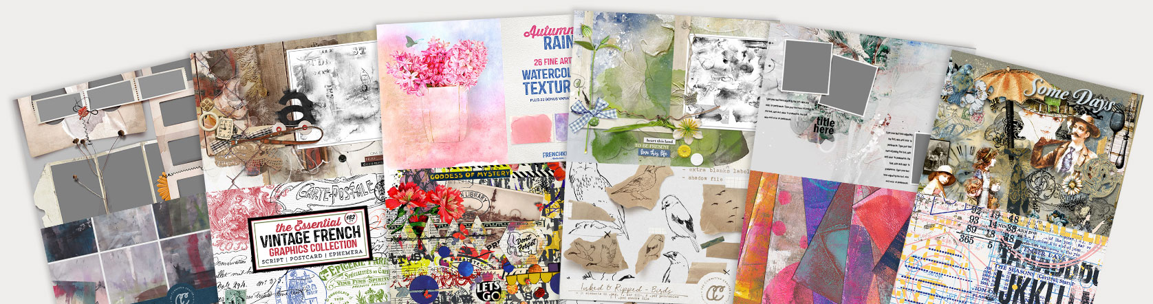 Scrapbooking Live Site Products