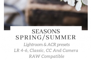 Seasons – Spring Summer Lightroom ACR Presets