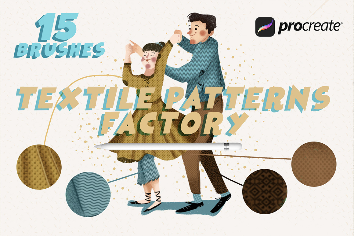 Textile Patterns Factory Procreate