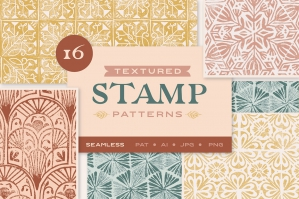 Textured Stamp Patterns