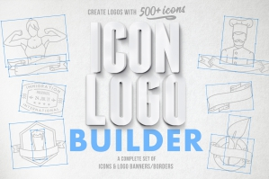 The Icon Logo Builder