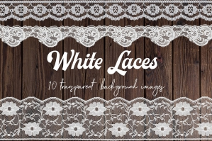 White Lace Borders Clipart