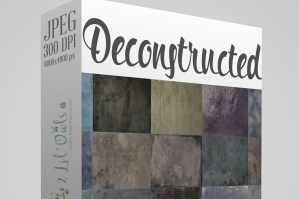 Deconstructed Fine Art Texture Set