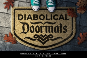 Diabolical Doormats for Procreate