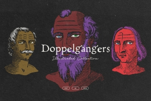 Doppelgangers - Renaissance Avatars Illustrations