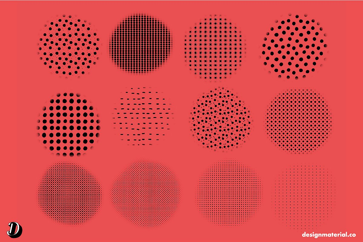 Dots Obsession Procreate Brushes