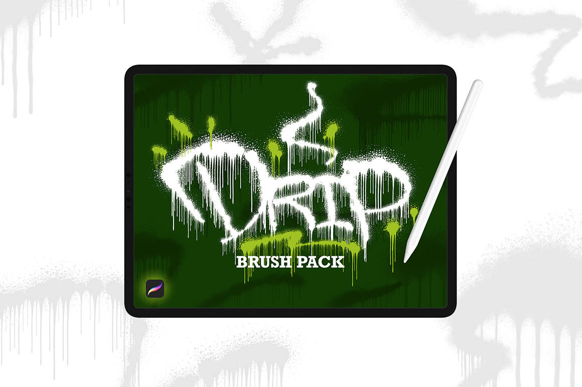 Drip Brush Pack