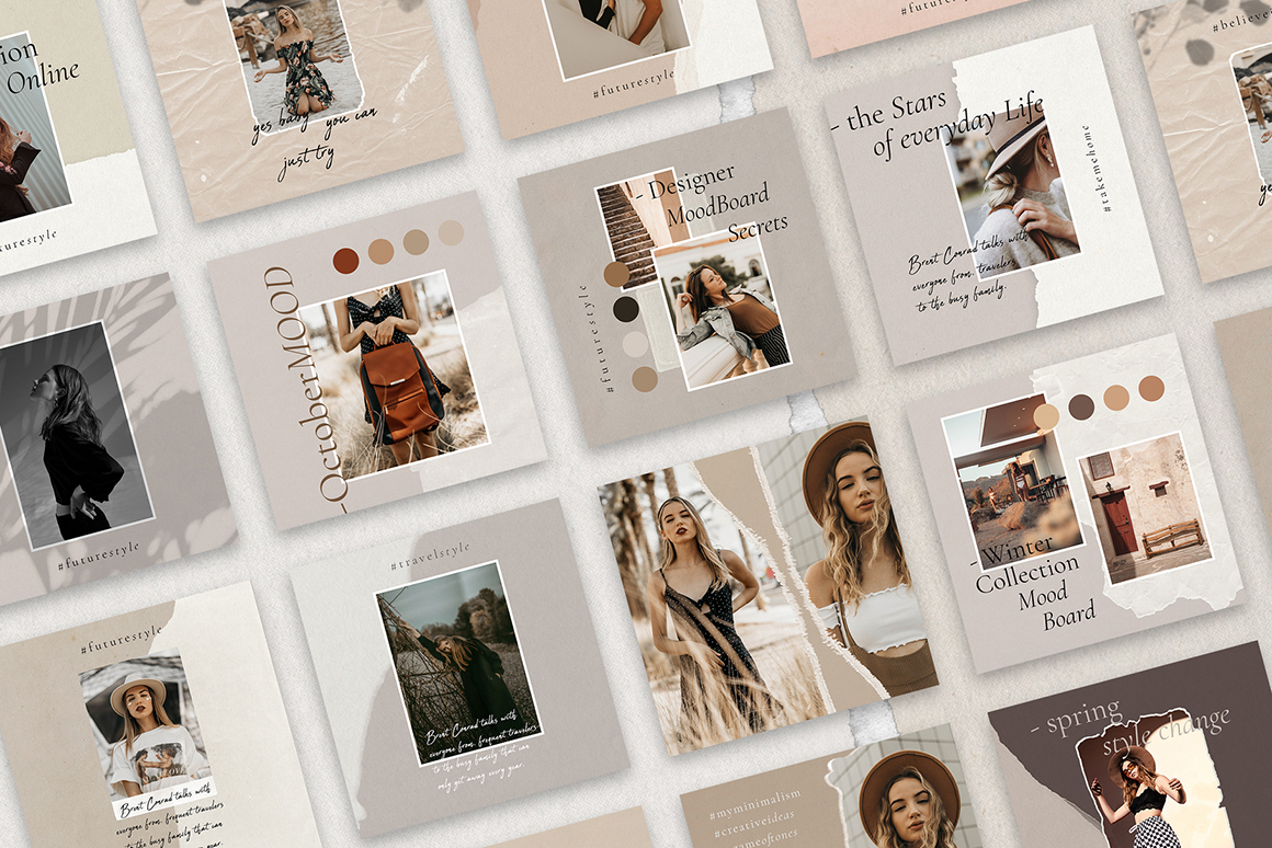 InstaBabe Instagram Post Templates