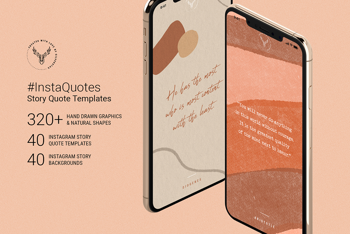 InstaQuotes - 40 Instagram Story Quote Templates