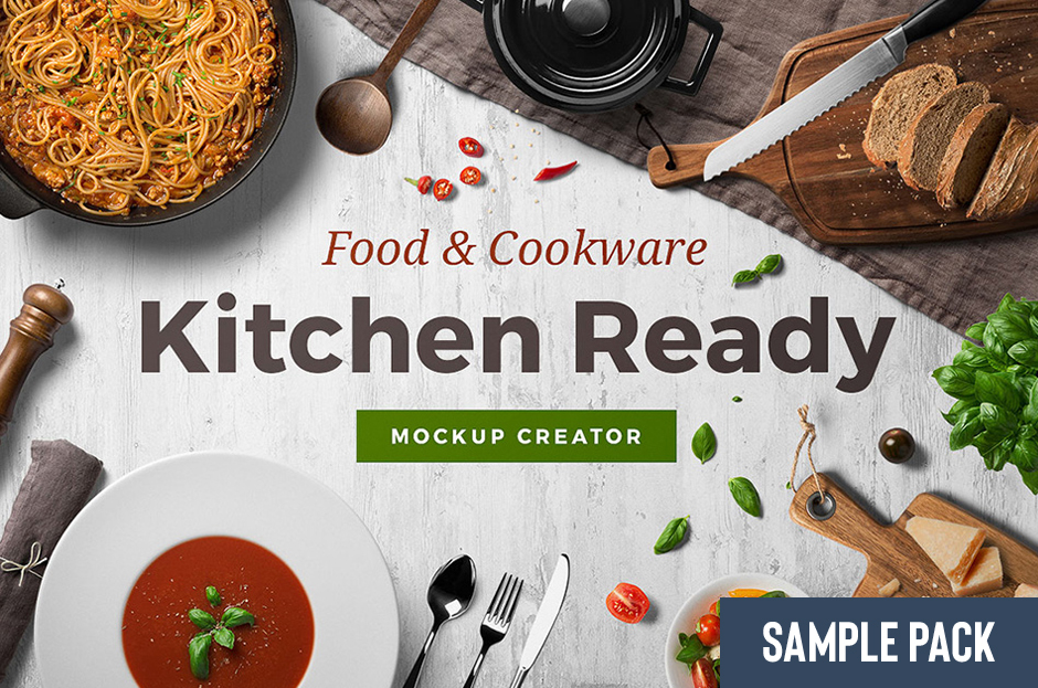 Kitchen Ready Mockup Creator Sample