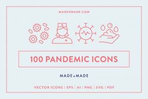 Line Icons – Pandemic