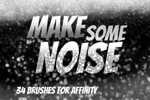 Make Some Noise - Affinity Grain Brushes