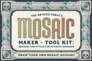 Mosaic Maker - Affinity Brushes & Patterns
