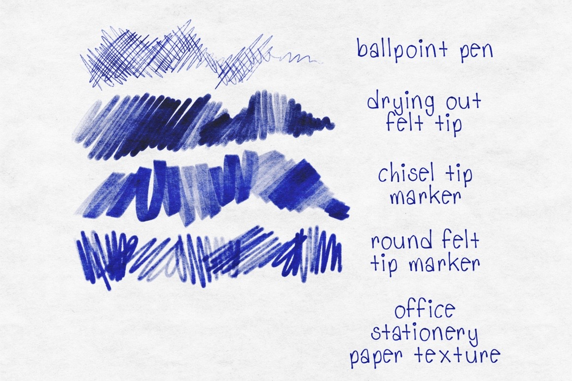 Office Supplies for Procreate