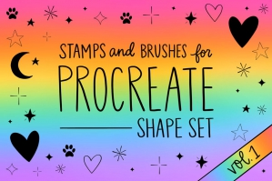 Procreate Stamps Set Vol. 1