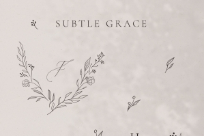 Subtle Grace Floral Collection