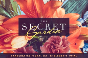 The Secret Garden - Floral Pack