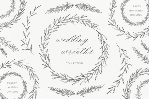 Wedding Wreaths & Laurels Collection