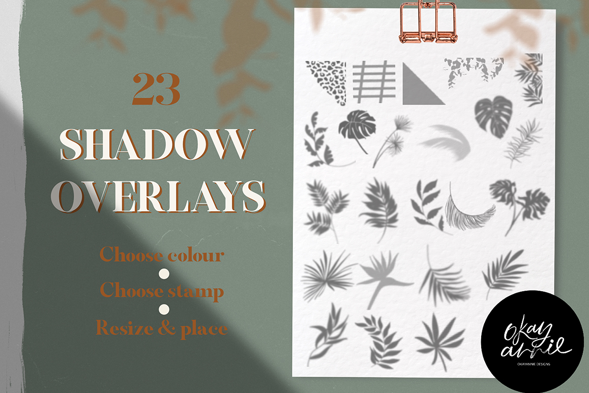 Wild Shadow Overlays for Procreate