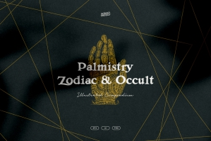 Palmistry, Zodiac & Occult Illustrations