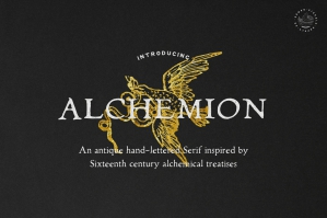 Alchemion — Display Serif Font