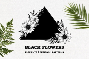 Black Flowers Part 2