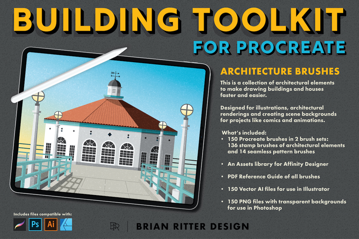 Building Toolkit for Procreate