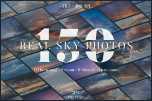 Cloud Nine - 150 Hires Sky Photos