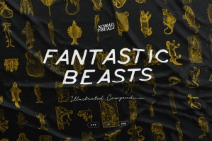 Fantastic Beasts Illustrations