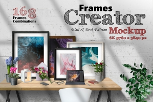 Frames Creator 6K Wall & Desk Edition