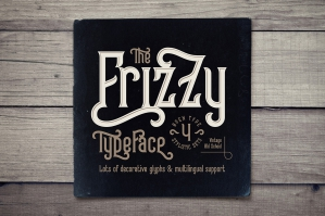 Frizzy Vintage Font