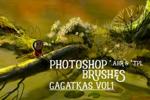 Gagatka's Photoshop Pro Brush Set - Vol.1