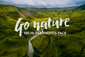 Go Nature - 100 Photos Pack