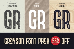 Grayson Font Pack