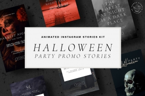 Halloween Animated Instagram Stories Templates
