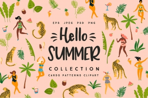 Hello Summer! Vector Collection