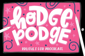 Hodge Podge Brushes for Procreate